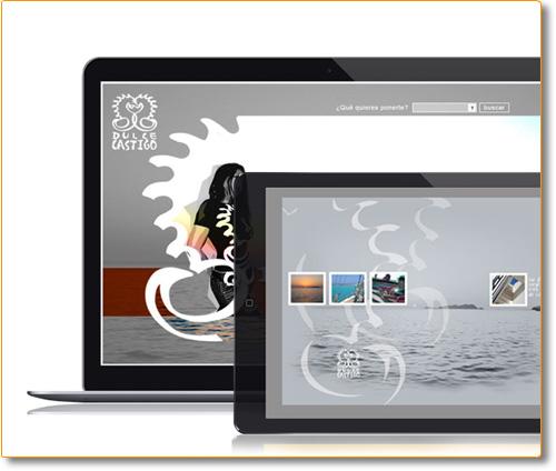 Diseño y Desarrollo Website DulceCastigo