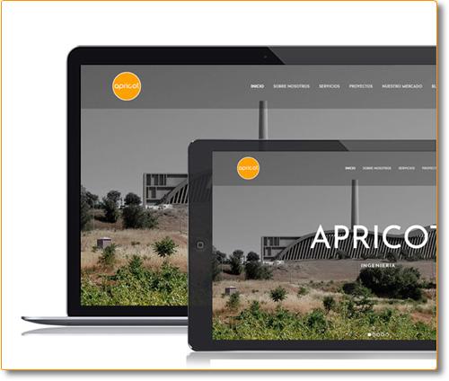 Diseño y Desarrollo Website Apricot Ingenieria