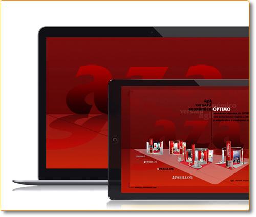 Diseño y Desarrollo Website Mulimedia AZA Eventos