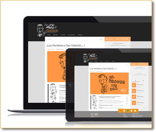 Diseño Propuestas para Web Ocio