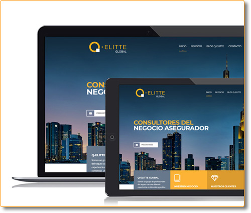 Diseño y Desarrollo Website Q-elitte Global