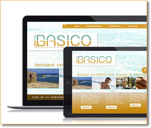 Diiseño y Desarrollo Website ZBasico