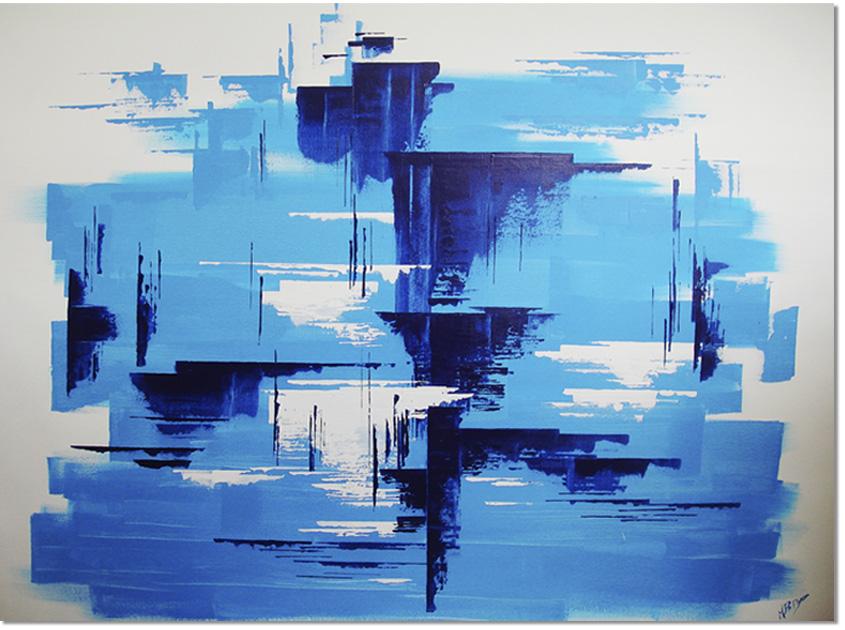 Mares; acrilico sobre lienzo