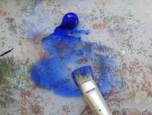 Retocar lienzo Impreso licuar