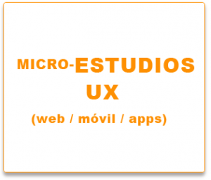 micro-estudios UX