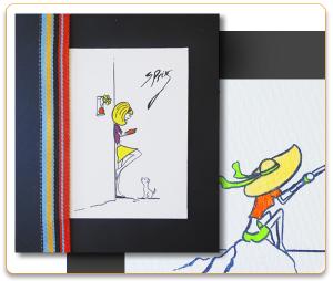 Ilustraciones personalizadas hechas a mano